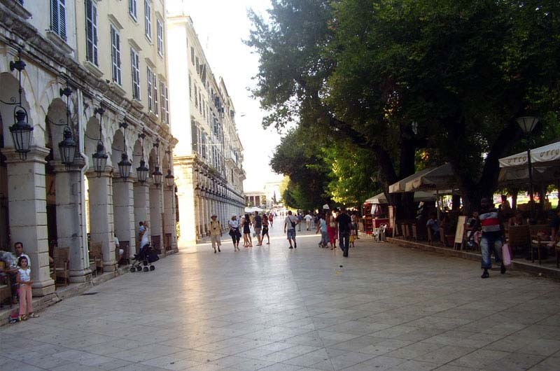 Corfu Old Town and Liston tours